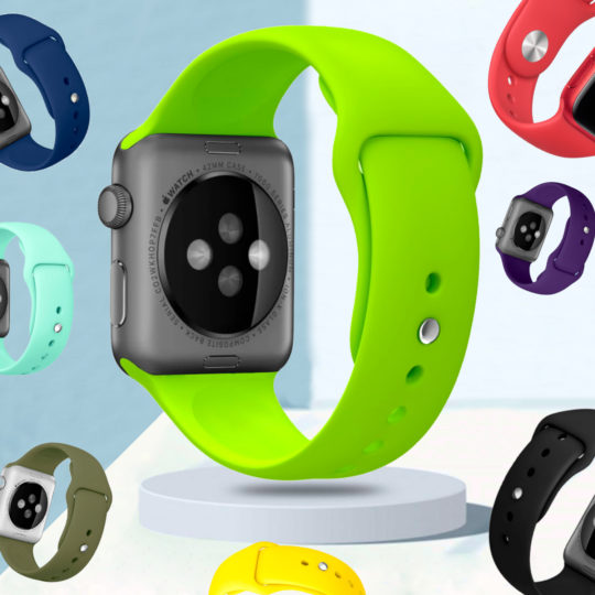Classic Silicone Apple Watch Band
