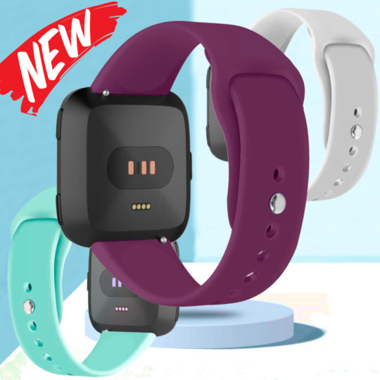 Silicone Pin Band for Fitbit VERSA Watch