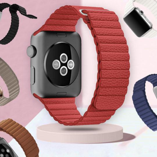 Microfiber Leather Loop Apple Watch