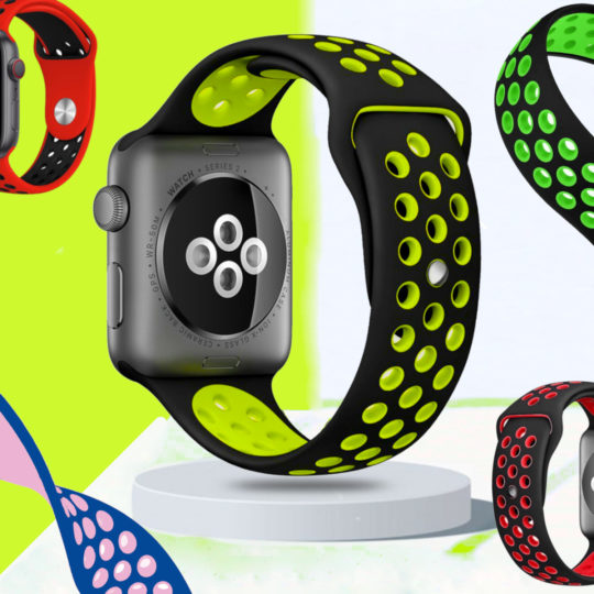Sports Silicone Apple Watch Band