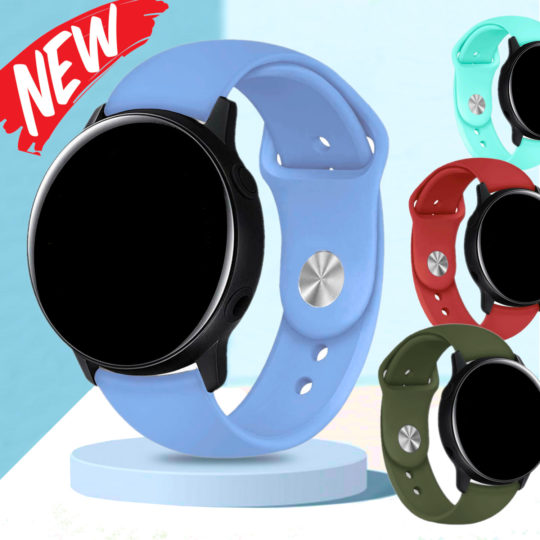 Silicone Pin Band for Samsung Galaxy Watch